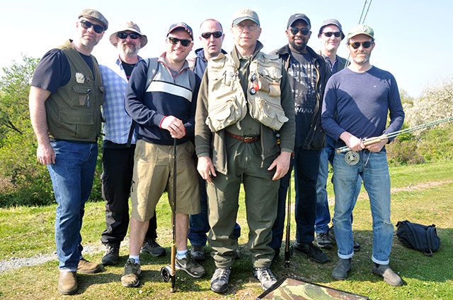 Another successful Start Fly Fishing at Walthamstow course.